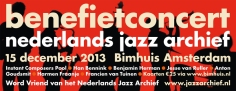 Benefiet Nederlands Jazz Archief
