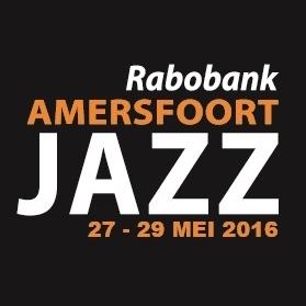Amersfoort Jazz vierkant (op zwart)